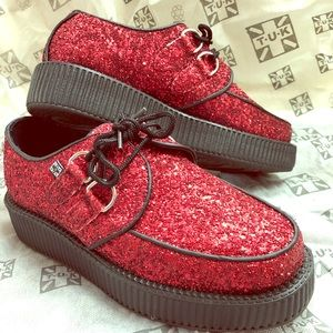 T.U.K Red Ruby Creepers